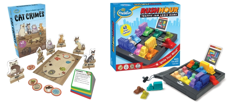 Photo of Logic Puzzles – Rush Hour and Cat Crimes from ThinkFun Review