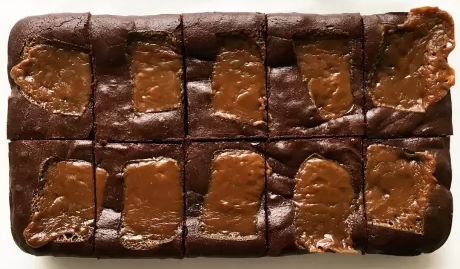 Photo of Yumbles Sea Salted Butterscotch Chocolate Brownie Review