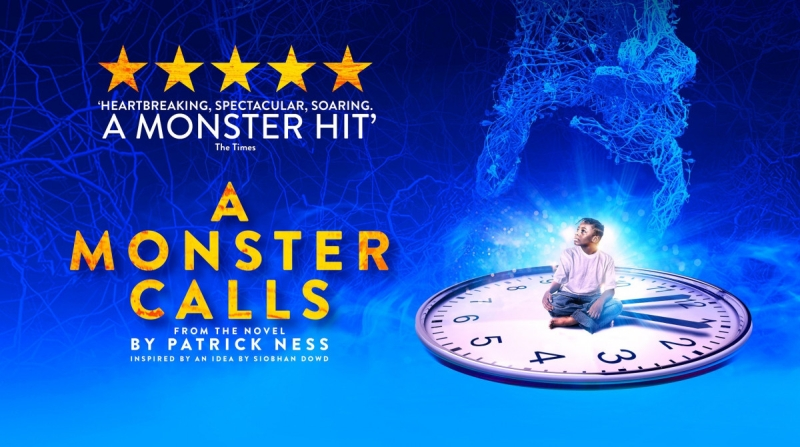 Photo of A Monster Calls at the Lyceum Theatre Sheffield Review