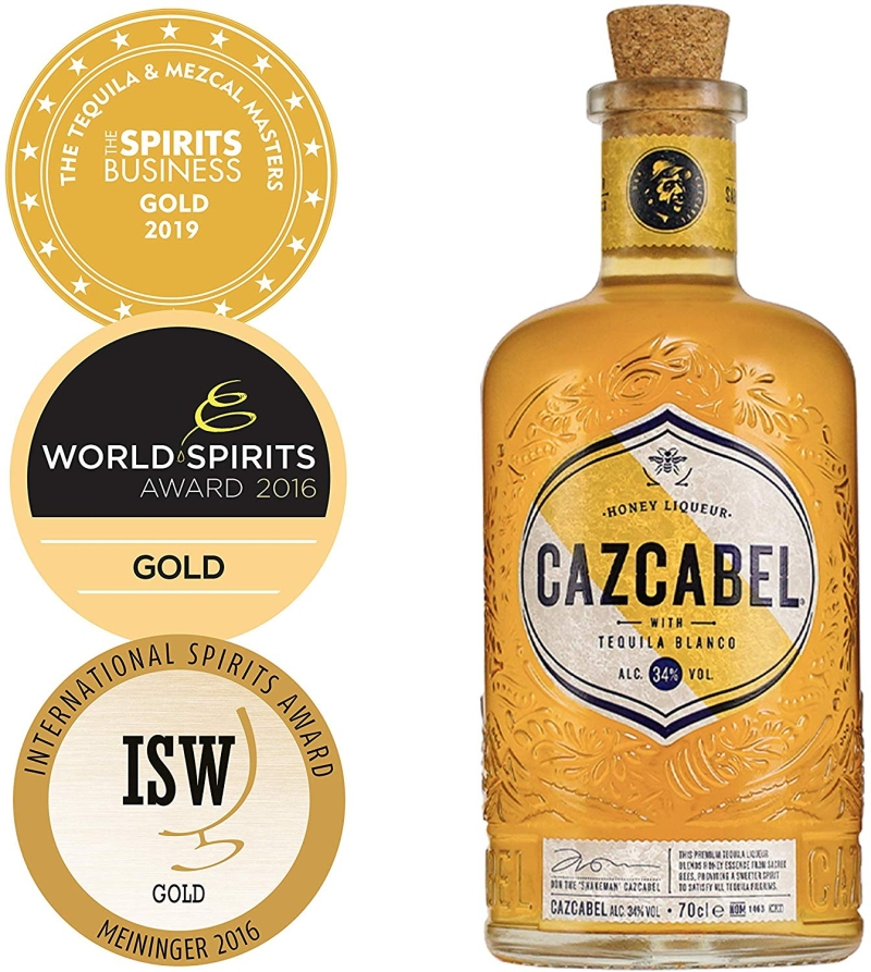Photo of Cazcabel Honey Tequila Review