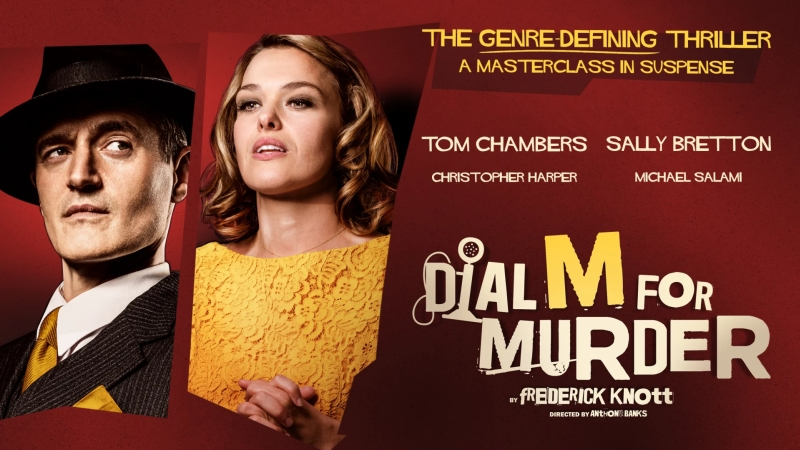 Photo of Dial M for Murder at the Theatre Royal Glasgow Review