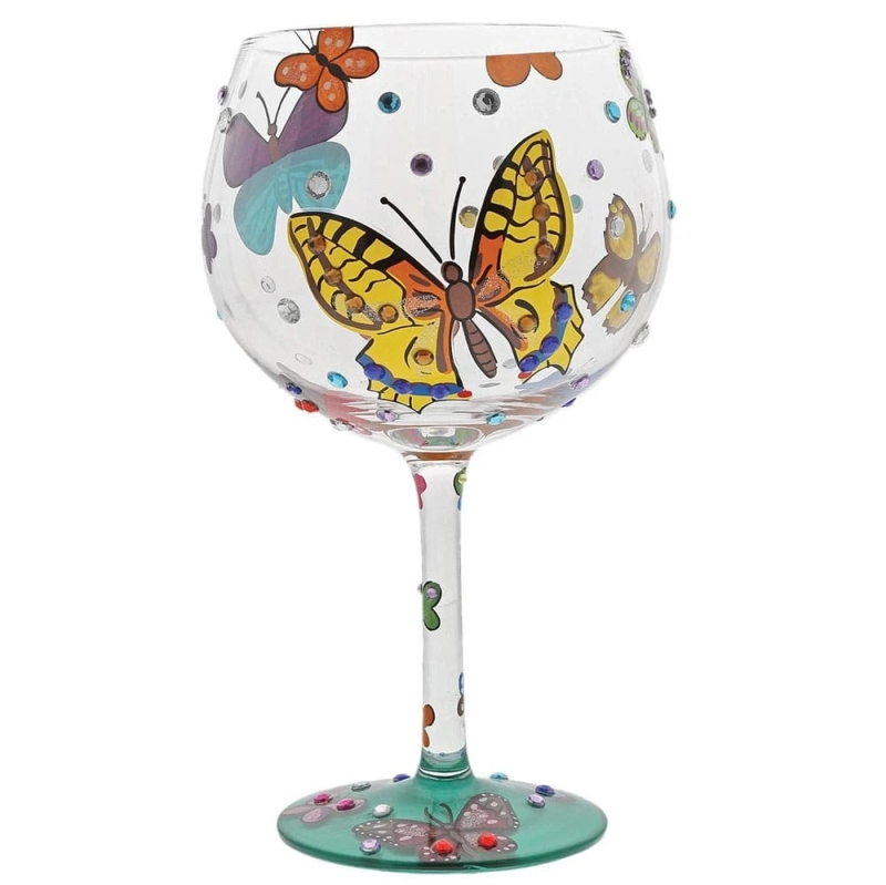 Photo of Designs by Lolita Butterflies Gin Glass Review