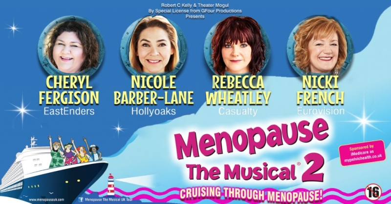 Photo of Menopause The Musical 2 at The Hawth Crawley Review