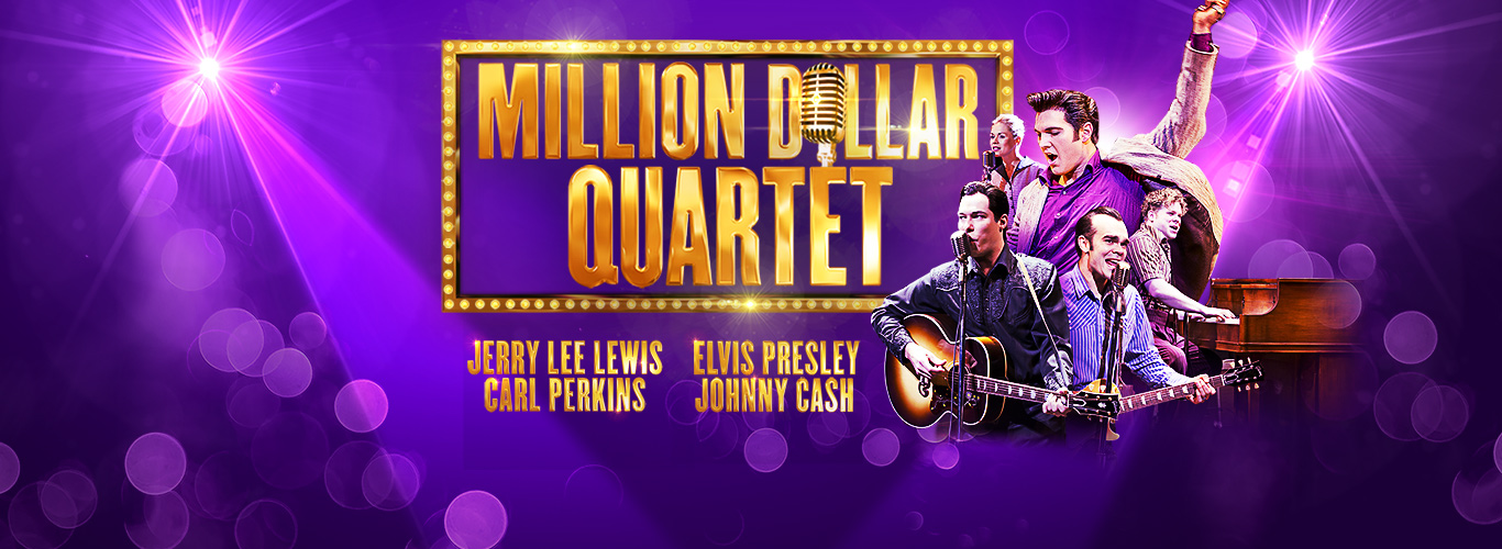 Photo of Million Dollar Quartet at the Mayflower Theatre Southampton Review