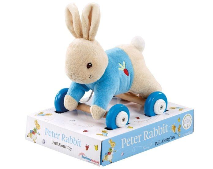 Peter Rabbit Pull-along