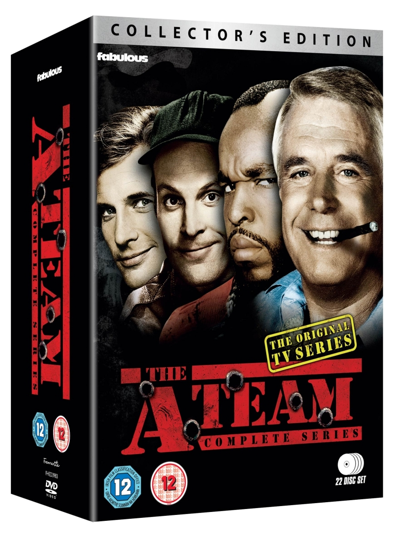 Photo of The A-Team Collector's Edition DVD Review