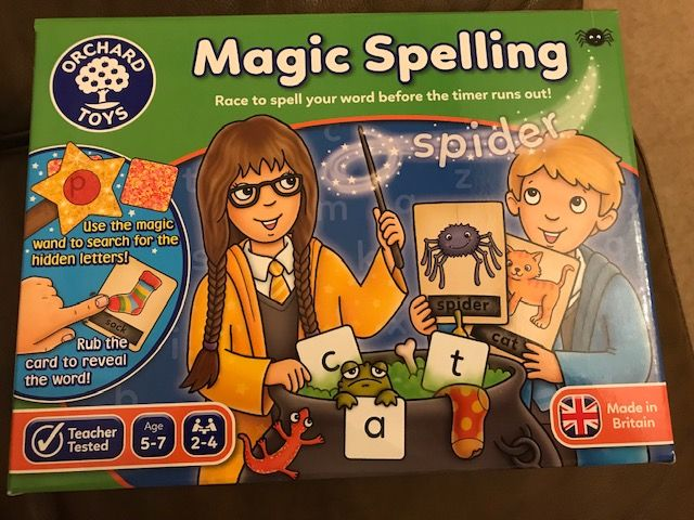 Photo of Orchard Toys Magic Spelling Review