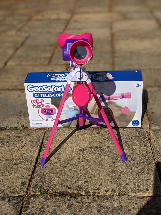 Photo of Learning Resources GeoSafari® Jr. My First Telescope™ Review
