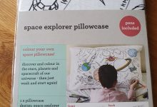 Photo of Eatsleepdoodle Space Explorer Pillowcase Review