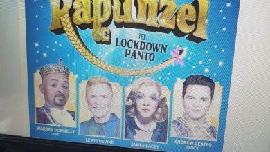 Photo of Rapunzel Lockdown Panto