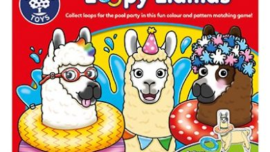 Photo of Orchard Toys Loopy Llamas Game Review