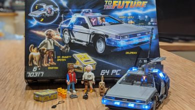 Photo of Playmobil Back To The Future DeLorean Playset Review