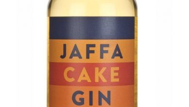 Photo of Jaffa Cake Gin Review