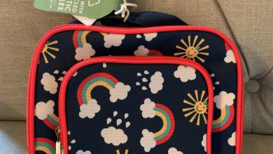 Photo of Frugi Pack A Snack Lunch Bag- Rain Or Shine Print Review
