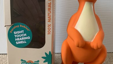 Photo of Mizzie the Kangaroo Teething Toy Review