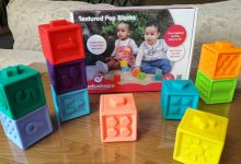 Photo of Edushape Textured Pop Blocks Review