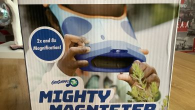 Photo of Learning Resources Geosafari Mighty Magnifier Review