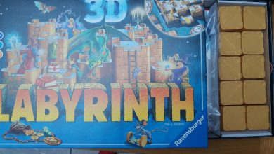Photo of Ravensburger 3D Labyrinth Game Review
