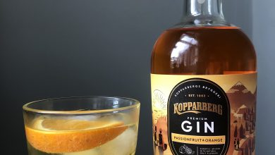 Photo of Kopparberg Passionfruit & Orange Gin Review