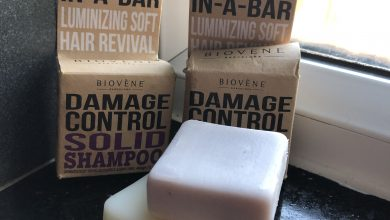Photo of Biovene Coconut and Keratin Shampoo and Conditioner Bars Review