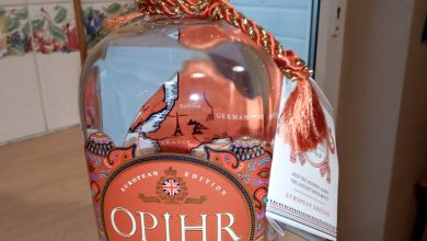 Photo of OPIHR London Dry Gin European Edition Review
