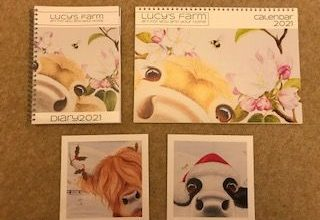 Photo of Lucy's Farm Calendar, Diary and Christmas Card Review