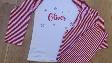 Photo of All About the Bump Personalised Christmas Pyjamas Review