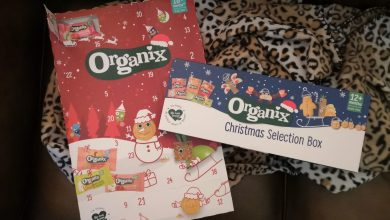 Photo of Organix Advent Calender And Organix Christmas Selection Box Review
