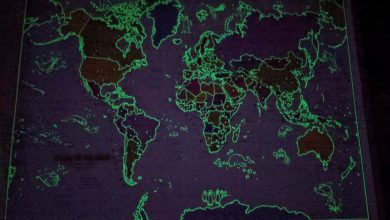 Photo of Children's Glow In The Dark World Map Review