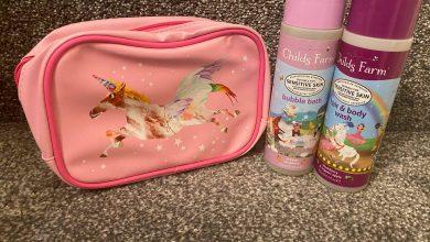 Photo of Childs Farm Unicorn Wash Bag Gift Set Review