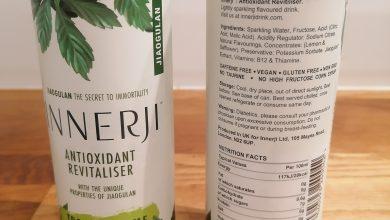 Photo of INNERJI Antioxidant Revitaliser Drink Review