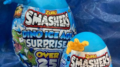 Photo of Zuru Smashers Dino Ice Age Surprise Eggs Review