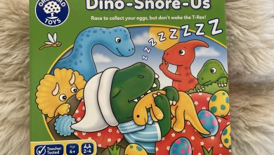 Photo of Orchard Toys Dino-Snore-Us Review
